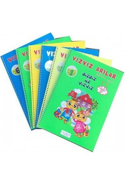 Beyaz Pusula Yayınları Okulönesi Vızvız Arılar Eğitim Seti 9 Kitap
