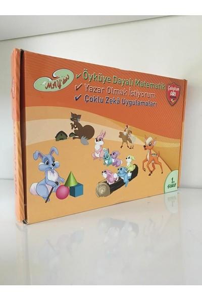 Çalışkan Arı Hikayelerle Matematik Seti İlkokul 1.Sınıf 10 Kitap