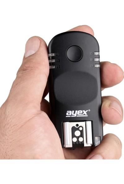 Ayex Canon Eos İçin Ayex Ax-Ba1 Kablosuz Flaş Tetikleyici Ve Kablosuz Kumanda