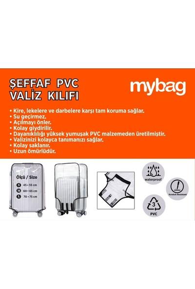 Mybag Şeffaf Pvc Valiz Kılıfı M