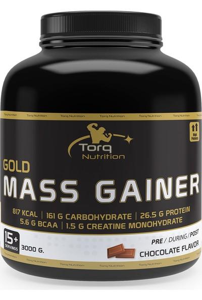 Torq Nutrition Gold Mass Gainer Karbonhidrat Tozu 3000 Gr / 15 Servis - Çikolata Aromalı