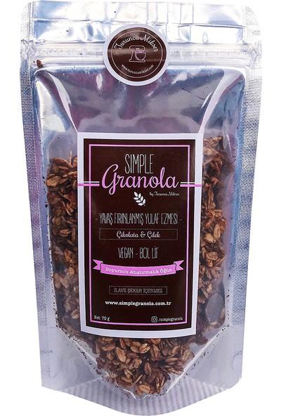 Simple Granola Çikolatalı & Çilekli Granola 70gr