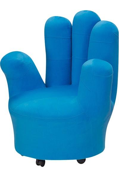 Yıldız Mobilya Mavi Parmak Koltuğu
