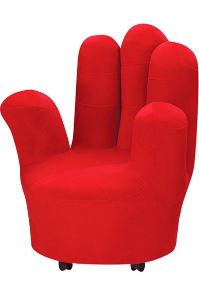 Yıldız Mobilya Kırmızı Parmak Koltuğu