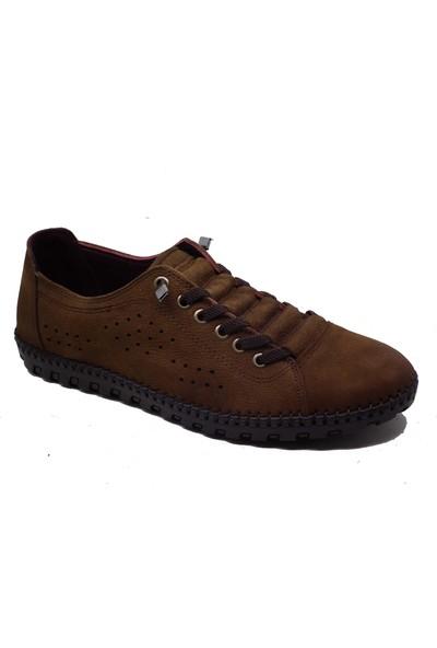 Darkwood 87706 Erkek Haki Deri Günlük Ayakkabı (40-44)