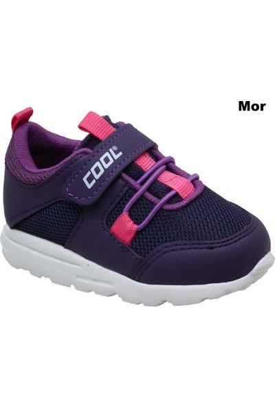 Cool 1400 Cırtcırtlı Lastikli Bebek Spor Ayakkabı 7 Renk