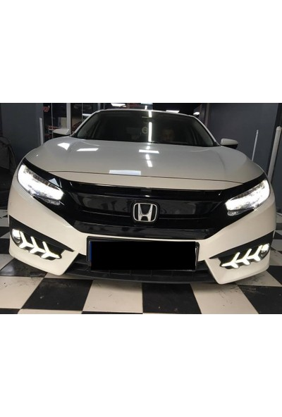 Güneşli Garaj Honda Civic Fc5 Ön Sisleri