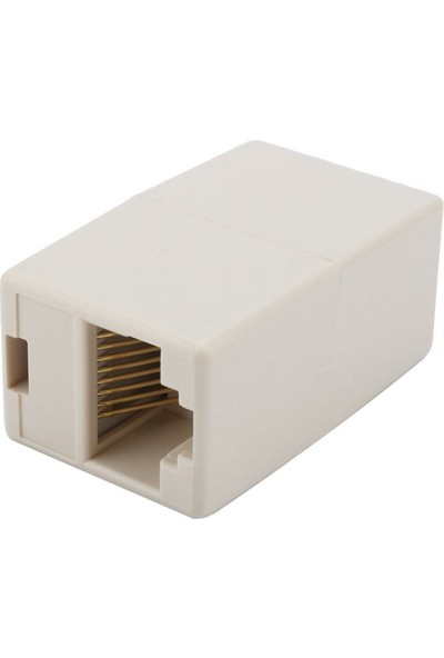 Alfais 4438 Ca55 6 Kablo Ekleyici Uzatma Uzatıcı Rj45 Ek Birleştirici Ara Adsl
