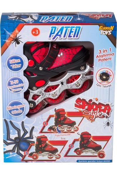 Furkan Spider Style Alıştırma Pateni 31 - 34