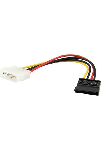 Alfais 4960 Sata Kasa içi Sata HDD 4 pib Power Güç Kablosu 15 cm