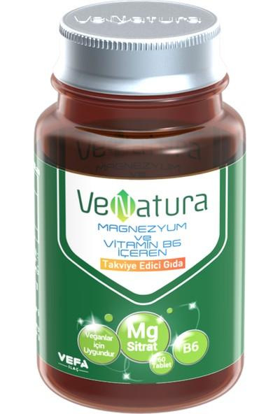 Venatura Magnezyum Sitrat Ve Vitamin B6 60 Tablet