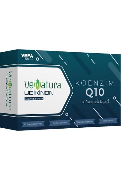 Venatura Ubikinon Koenzim Q10 30 Yumuşak Kapsül