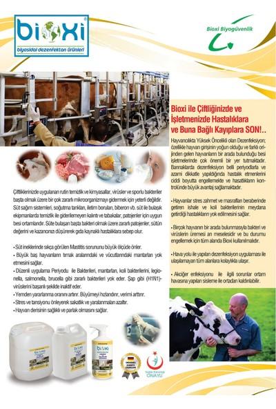 Bioxi Biyosidal Veterinerlik ve Hayvancılık Dezenfektanı Konsantre 5 lt