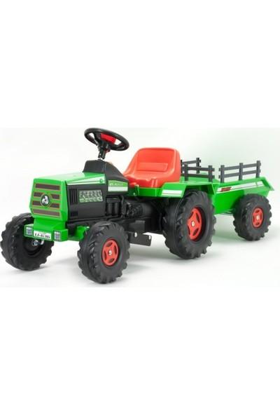 Injusa Akülü Traktör Basic Yeşil