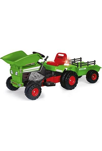 Injusa Dump Track Akülü Traktör Yeşil