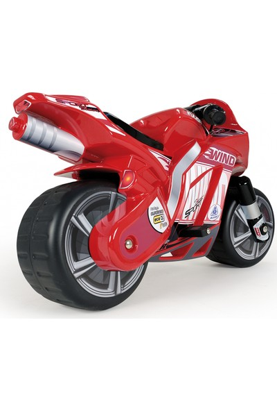 Injusa Moto Wind Akülü Motor Kırmızı