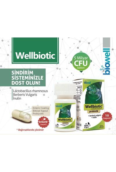 Biowell Wellbiotic 10 Kapsül - Probiyotik