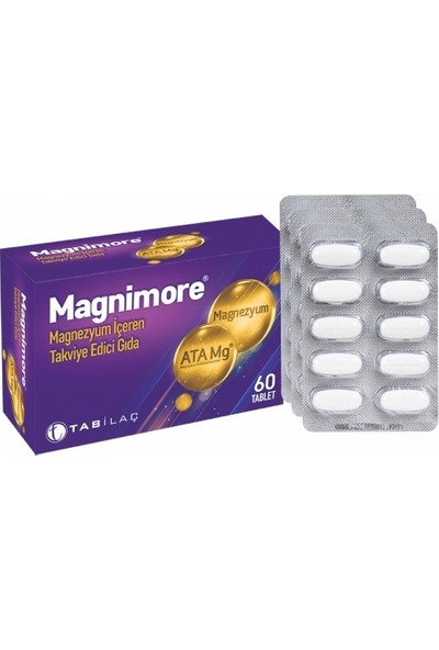 Magnimore Takviye Edici Gıda 60 Tablet
