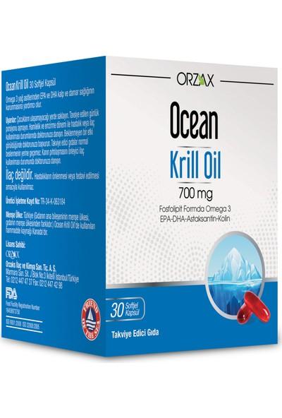 Ocean Plus Krill Oil 700mg 30 Softjel Kapsül
