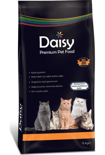 Daisy Premium Kısırlaştırılmış Somonlu Yetişkin Kedi Maması 15 kg