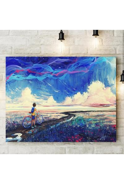 Decobritish Bisiklet Kanvas Tablo