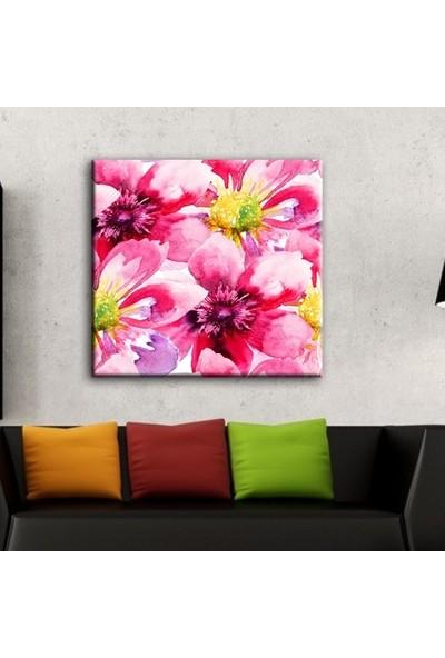 Decobritish Çiçekler Kanvas Tablo