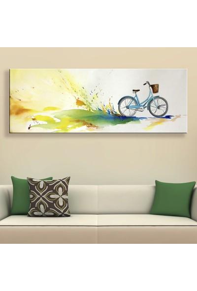 Decobritish Arte Bisiklet Kanvas Tablo
