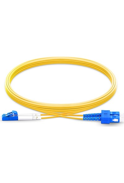 Fnet Sc / Lc Single Mode Duplex Optic Patch Cord/Cable 2 mt