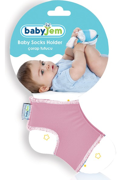 Babyjem Bebek Çorap Tutucu Pembe