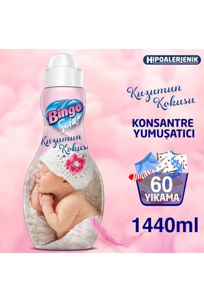 Bingo Soft Konsantre Çamaşır Yumuşatıcısı Canım Kızım 1440 ml