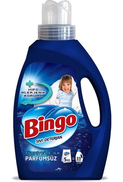 Bingo Parfümsüz Sıvı Çamaşır Deterjanı 2145 ml