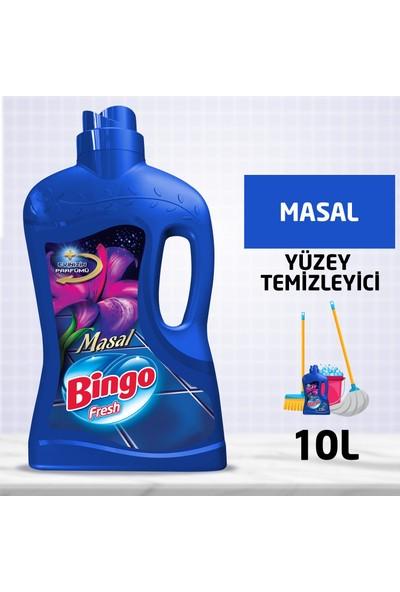 Bingo Fresh Yüzey Temizleyici 2,5 lt Masal Ekonomi Paketi 4'lü