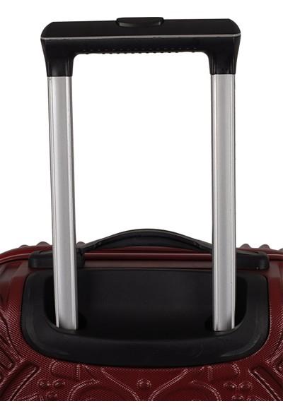 ÇÇS 5180 ABS Kabin Boy Valiz Bordo