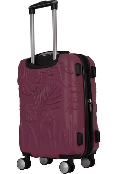 IT Luggage 2251 ABS 2'li Valiz Seti Mor (Kabin + Orta)