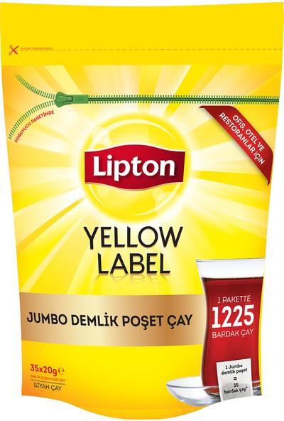 Lipton Yellow Label Jumbo Demlik Poşet Çay 35X20gr