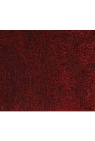Caserta Home Bulut Desen Kırmızı Orta Sıklıkta Pileli Jakar Tek Kanat Fon Perde - ezo 12718