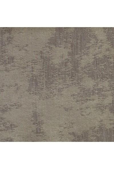 Caserta Home Bulut Desen Koyu Bej V-1 Sık Pileli Jakar Tek Kanat Fon Perde - ezo 12757