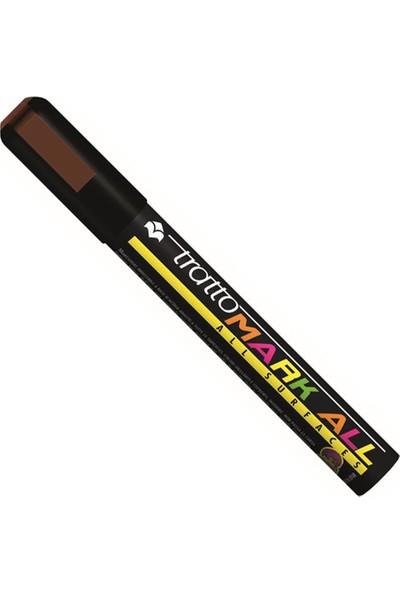 Tratto Mark All Surfaces Kahverengi Renk