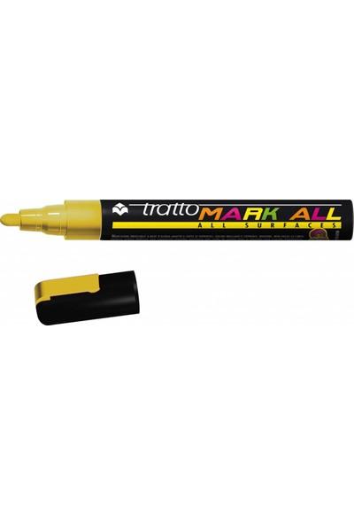 Tratto Mark All Surfaces Koyu Sarı Renk