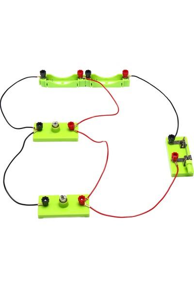 T-Tray Elektrik Devresi Yapım Seti, 15 Parça