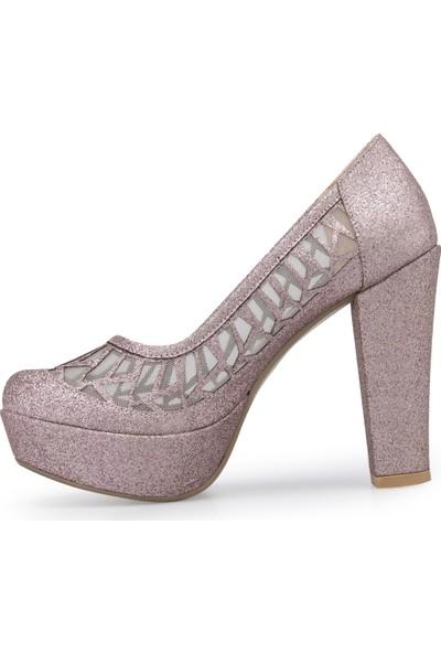Yurci Topuklu Ayakkabı Kadın Ayakkabı 2051219