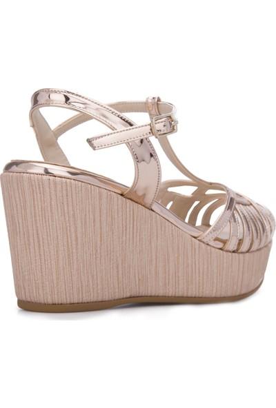 Exxe Topuklu Ayakkabı Kadın Ayakkabı 347Feta9057