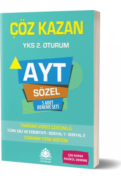 Çöz Kazan Yayınları AYT Sözel 5 li Deneme Sınavı