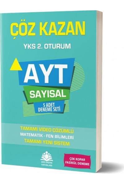 Çöz Kazan Yayınları AYT Sayısal 5 li Deneme Sınavı