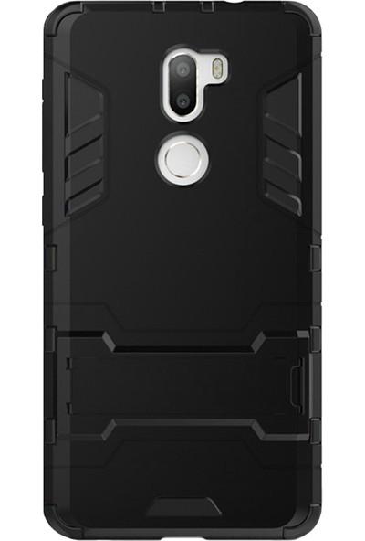 Microcase Xiaomi Mi 5S Plus Alfa Serisi Armor Standlı Koruma Kılıf