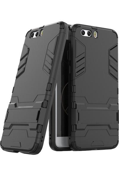 Microcase ZTE Nubia Z17 MiniS Alfa Serisi Armor Standlı Koruma Kılıf