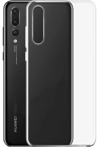Microcase Huawei P20 Pro Ultra İnce 0.2 mm Soft Silikon Kılıf