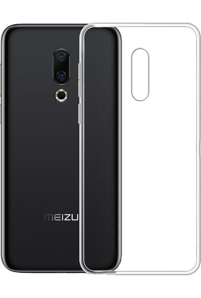 Microcase Meizu 16TH Ultra İnce 0.2 mm Soft Silikon Kılıf