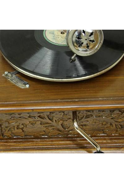 Mory Concept Gramofon 533 Kare Oymalı