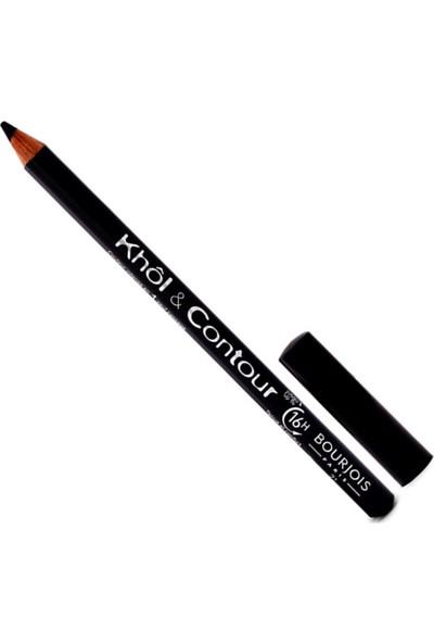 Bourjois Khol & Contour 16 Hour Eye Liner Pencil 71 Ultra Black